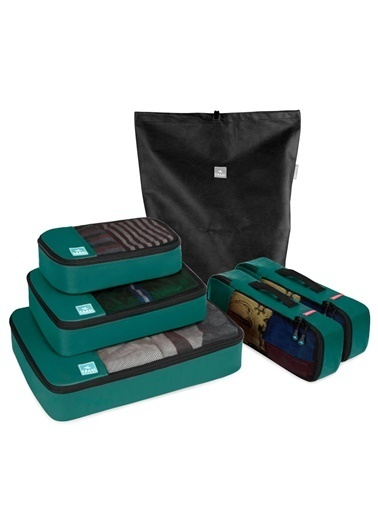 Fagel Travel 6Lı Maxi Set Yeşil